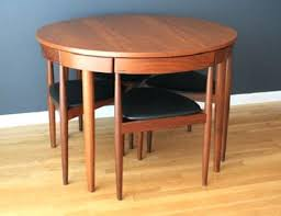 mid century round dining table the round dining table mid century