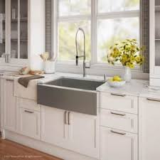 farmhouse sink faucet. Beautiful Farmhouse KRAUS 33 Inch Farmhouse Single Bowl Stainless Steel Kitchen Sink KPF1640  Nola Commercial Intended Sink Faucet O