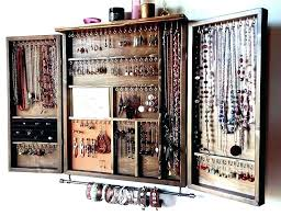 wall mounted jewelry hanger jewellery wall mounted jewellery organizer