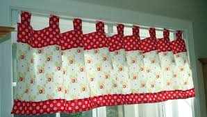 retro kitchen curtains and valances ideas