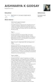 Sample Help Desk Analyst Resume Technical Support Analyst Resume Example Examples of Resumes 44