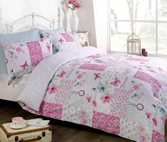 dream patchwork single duvet cover pink free delivery over 30 on all uk orders