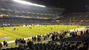 Stubhub Soldier Field Seating Chart Soldier Field Section 115 Row 14 Seat 8 Chicago Bears