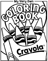 Coloring Book Cover Crayolacomau