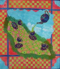 152 best Laura Wasilowski images on Pinterest   Creative, Baby ... & I'm a raving fan - Art quilt by Laura Wasilowski. Love her work! Take her  classes - buy her books, watch her videos! Adamdwight.com