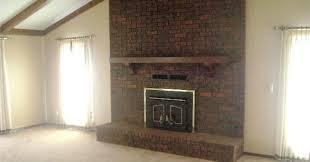 painting a fireplace whitePaint A How To Paint A Brick Fireplace White  JESSICA Color