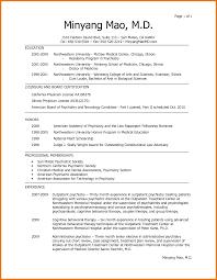 Sample Medical School Resume Fascinating Medical School Resume Example Of Good Harvard Sample Med 25