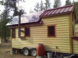 solar powered tiny house. Solar Panel Installation Powered Tiny House E