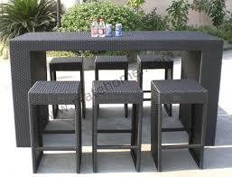 Winsome Ideas Patio Furniture Bar Set Beautiful Decoration Table