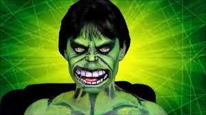 the hulk makeup
