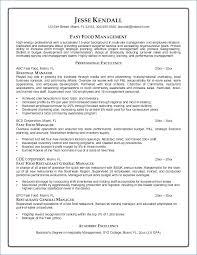 Restaurant Manager Resume Cover Letter Igniteresumes Com