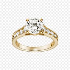 cartier wedding rings. Engagement ring Diamond Wedding ring Gold Cartier diamond ring png