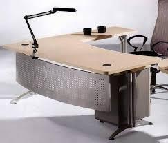 l shaped home office desk. Modern Elegant Wood Top L Shaped Executive Office Desks Design Home Desk U
