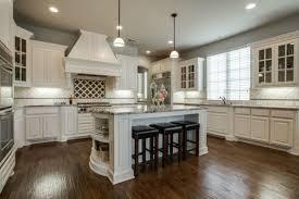 off white kitchen cabinets dark floors. Traditional Kitchen With Off White Cabinets And Dark Maple Floors F