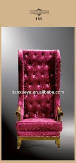 antique king and queen throne chair b02