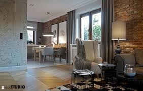 dom zaprojwany przytulnie zdjęcie od mikoŁajskastudio salon styl rustykalny mikoŁajskastudio