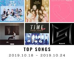 Latest Chart Songs Youtube Youtube Top Songs On Youtube Korea 43rd Week 2019 2019 10