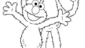 Elmo Coloring Pages To Print Coloring Pages Printable Coloring Book