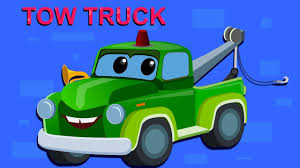 Zeek And Friends | Tow Truck Song | Car Song And Rhymes | cartoon ...