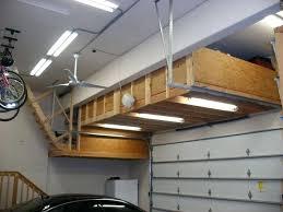suspended garage storage loft transform about remodel home interior design ideas with decorating shelves hanging plans