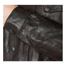 hurricane leather jacket brown