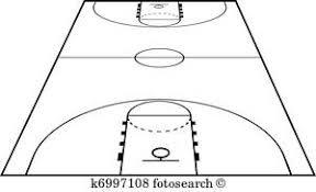 ベクトル イラスト の バスケットボールコート フィールド 地面