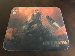 my 22 year old duke mouse pad in 1996 my dad bought me a pc duke nukem 3d and this mouse pad the pc is long gone but i have the duke