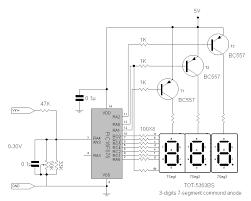 digital voltmeter 3 digit output by pic16f676 circuit digital voltmeter 3 digit output by pic16f676 circuit project description