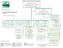 Officers and Executive Committee Leadership & Committee Chart