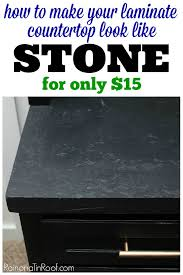make your counters look like stone with this diy countertop makeover diy countertop ideas