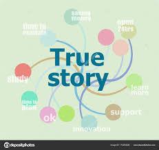 True Story Business Data Visualization Process Chart