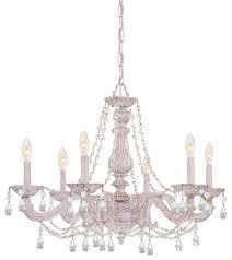 crystorama paris flea market chandelier traditional chandeliers