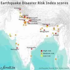 The largest earthquake in india: These 13 Indian Cities Face The Greatest Danger From Earthquakes According To A New Disaster Index