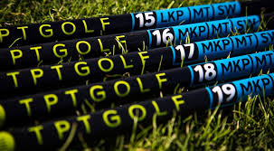 TPT Golf Shafts. Varas de Golf