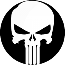 Punisher Logo (Official CypGrime) » Emblems for GTA 5 / Grand Theft ...