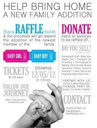 things to raffle off at a fundraiser adoption update 1 kid n counting