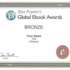 Honorable Mention Certificate Honorable Mention Certificate Dan Poynters Global Ebook