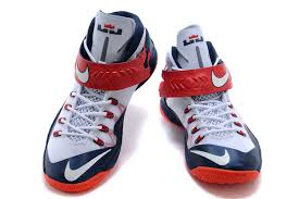 lebron shoes soldier 8. cheap for sale nike zoom lebron soldier 8 usa white obsidian-university red-2 shoes