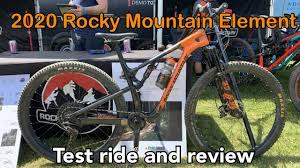 2020 Rocky Mountain Element Test Ride And Review