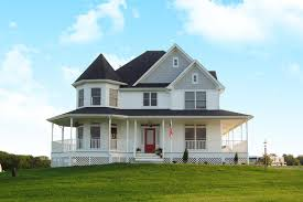 Victorian homes are traditionally painted in exuberant color schemes. Victorian House Plans Architectural Designs