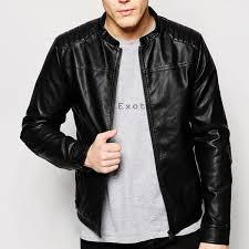men leather biker jacket lemj 019