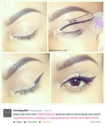 the first ever eyeliner stencil and smokey eye makeup stencil apply cat eye makeup cat eyeliner winged eyeliner and smokey eye makeup in seconds using