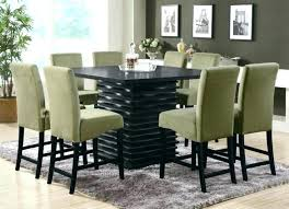 counter height table and chairs 9 piece kayden counter height table and chairs 9 piece dining