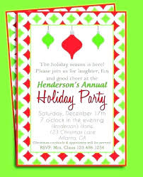 Party Invitation Wording Ideas Office Invitations Funny Holiday