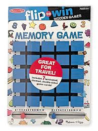 Melissa And Doug Wooden Games Unique Melissa Doug Flip To Win Travel Memory Game Wooden Game Board 32