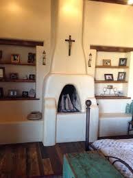 Southwest Fireplace Design Ideas Southwestern Fireplace With Built In Shelves Southwestern
