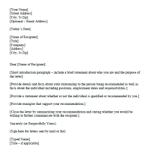Reference Letter For Rental Application Character