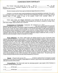Construction Contract Format Sample Contracts Besikeighty24co 2