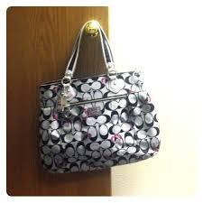 Coach Poppy Signature Hearts Glam Tote Bag