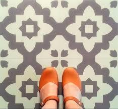 Patterned Linoleum Flooring Fascinating Patterned Linoleum Flooring Vinyl Floor Tiles Funky Lino Vi Nsbaco